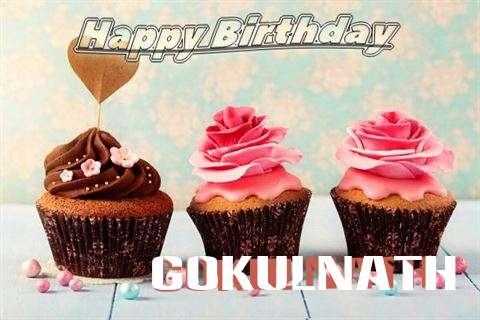 Happy Birthday Gokulnath Cake Image