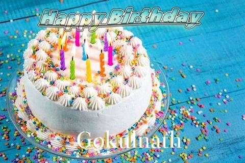 Happy Birthday Wishes for Gokulnath