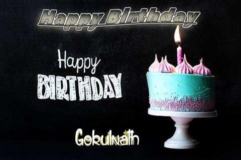 Happy Birthday Cake for Gokulnath
