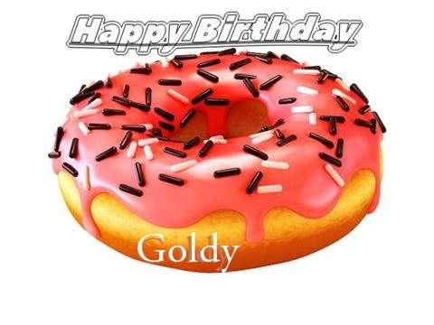 Happy Birthday to You Goldy