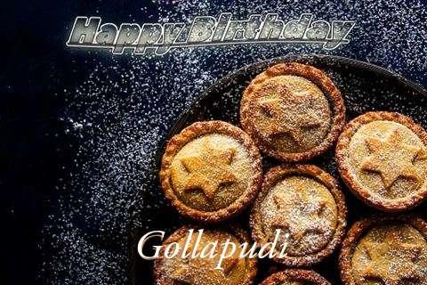 Happy Birthday Wishes for Gollapudi