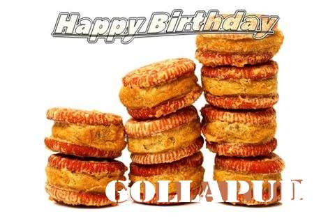 Happy Birthday Cake for Gollapudi