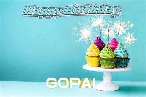 Happy Birthday Wishes for Gopal