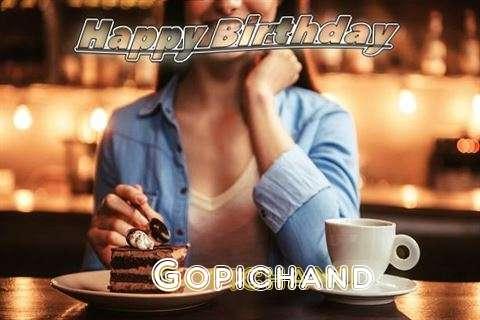 Happy Birthday Cake for Gopichand