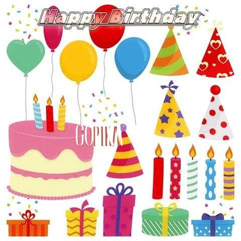 Happy Birthday Wishes for Gopika