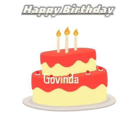 Birthday Wishes with Images of Govinda