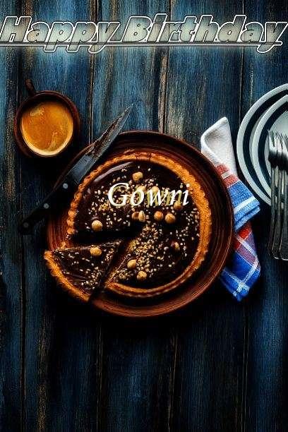 Happy Birthday Cake for Gowri