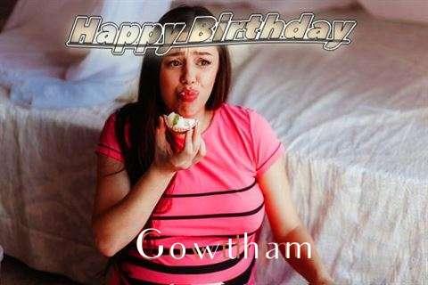 Happy Birthday to You Gowtham