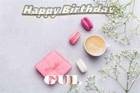 Happy Birthday Gul Cake Image
