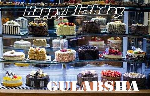 Happy Birthday Gulabsha Cake Image