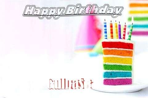 Happy Birthday Gulbasha Cake Image
