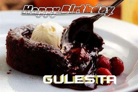 Happy Birthday Wishes for Gulesta