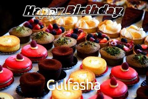 Birthday Wishes with Images of Gulfasha