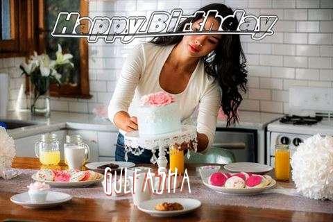 Happy Birthday Gulfasha Cake Image