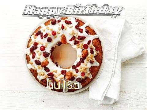Happy Birthday Cake for Gulfsa