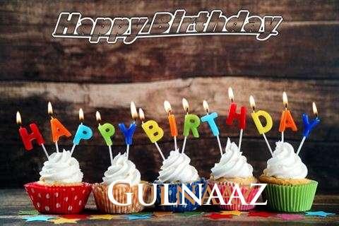 Happy Birthday Gulnaaz Cake Image