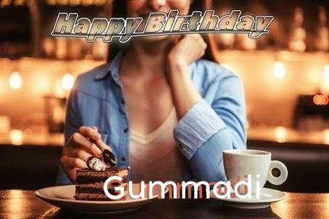 Happy Birthday Cake for Gummadi