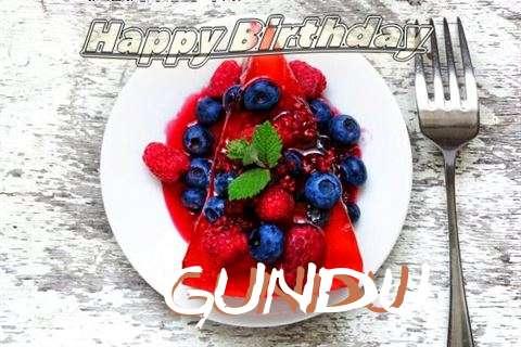 Happy Birthday Cake for Gundu