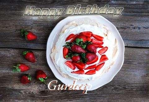 Happy Birthday Gurdeep Cake Image