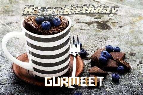 Happy Birthday Gurmeet Cake Image