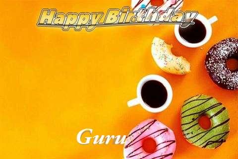 Happy Birthday Guru