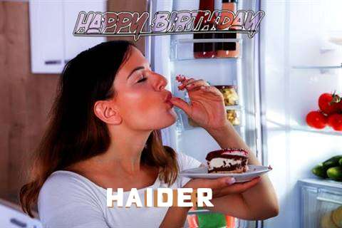 Happy Birthday to You Haider