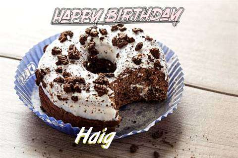 Happy Birthday Haig