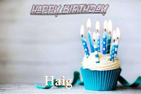 Happy Birthday Haig Cake Image