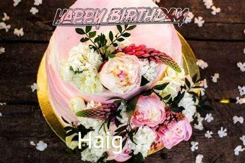 Haig Birthday Celebration