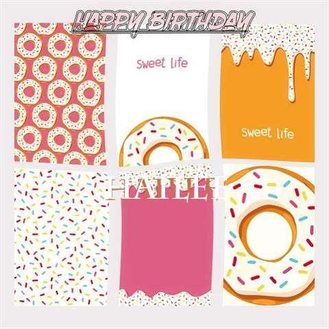 Happy Birthday Cake for Hailee
