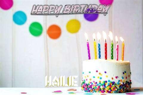 Happy Birthday Cake for Hailie