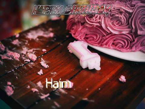 Haim Birthday Celebration