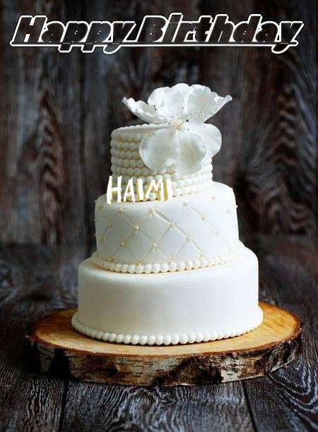 Happy Birthday Haimi Cake Image