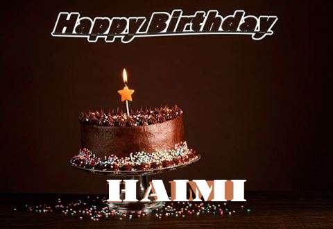 Happy Birthday Cake for Haimi