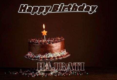 Happy Birthday Cake for Hajrati