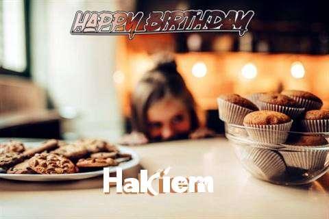 Happy Birthday Hakiem Cake Image