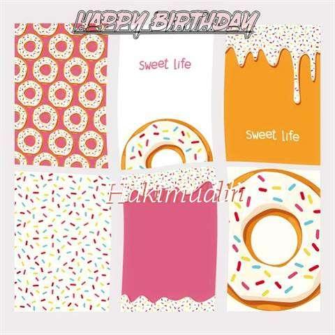 Happy Birthday Cake for Hakimuddin