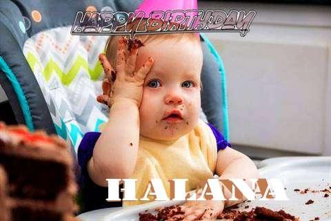 Happy Birthday Wishes for Halana