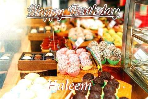 Happy Birthday Haleem