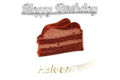 Happy Birthday Wishes for Haleem