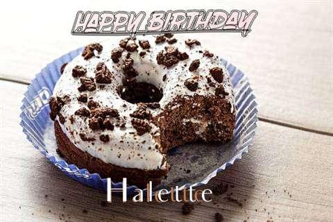 Happy Birthday Halette