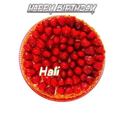 Happy Birthday to You Hali