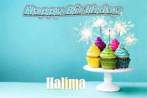 Happy Birthday Wishes for Halima
