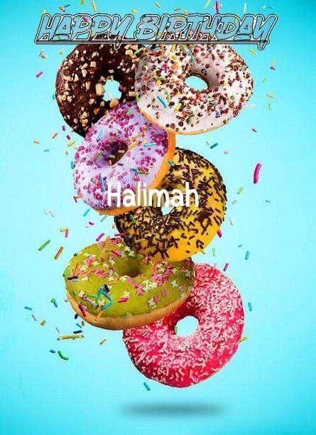 Happy Birthday Halimah