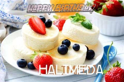 Happy Birthday Wishes for Halimeda