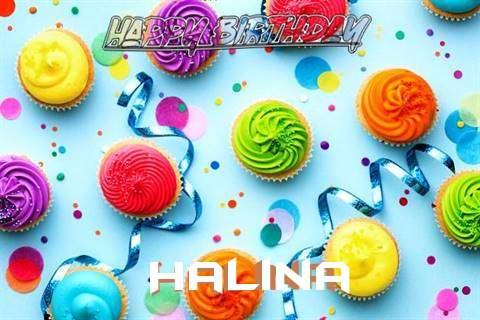 Happy Birthday Cake for Halina