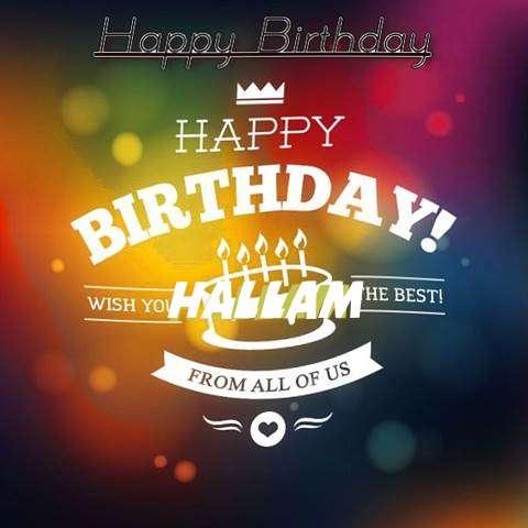 Hallam Birthday Celebration