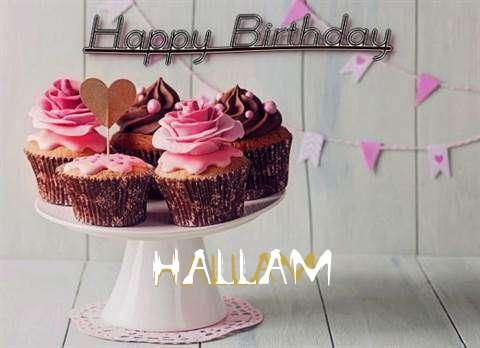 Happy Birthday to You Hallam