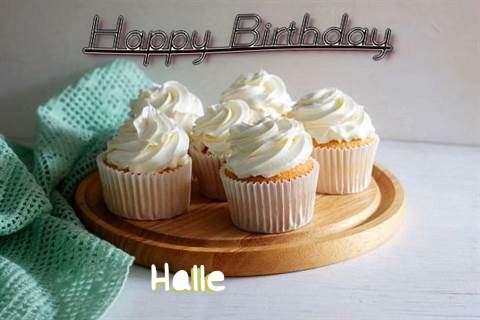 Happy Birthday Halle
