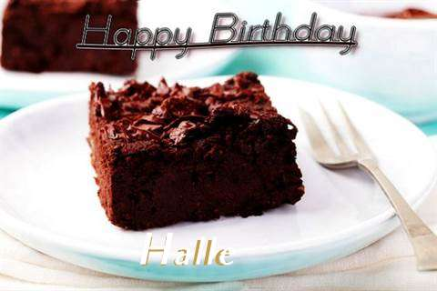 Happy Birthday Cake for Halle